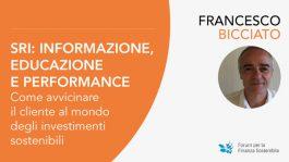 """Webinar """"SRI: informazione, educazione e performance"""""""